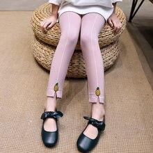 Get more info on the Leggings for Girls Spring Winter Warm Embroidery Pinaple Pattern Kids Girls Teenage Skinny Leggings for Girls Children Pants