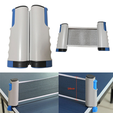 Net-Rack Equipment Table-Tennis-Accessories Ping-Pong Portable for Any Post Anywhere