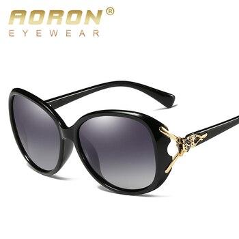 AORON Fashion Womens Polarized Sunglasses Women fox style Sung Lasses  Accessories UV400 Eyeglasses 2