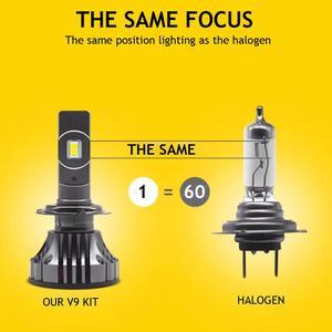 Image 3 - Светодиодная лампа YOTONLIGHT H1, H7, H4, двухцветная, H11, 9005, 9006, HB3, HB4, 120 Вт, 12000 лм, 6500K, 3000K, 4500K