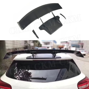A Class Carbon Fiber Racing Rear Roof Spoiler Tail Wings For Benz W176 A180 A200 A260 A45 AMG Spoiler 2013-2017 V Style