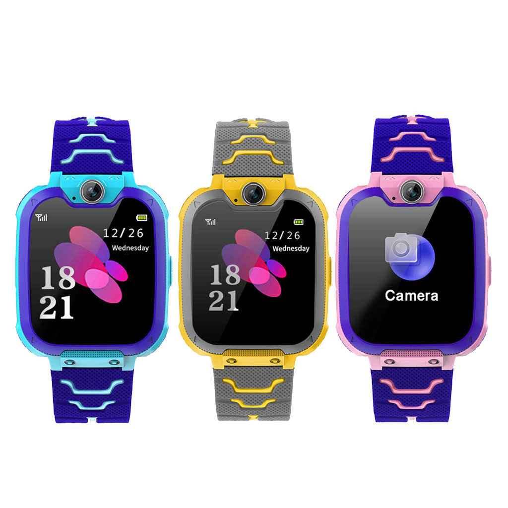 Anti-Lost Color Touch Screen Children Kid Smart Watch SOS Call LBS Tracking Location Finder Kids Baby Smart Watch For Boys Girls