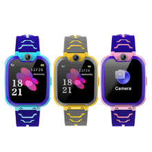 Anti-Lost Color Touch Screen Children Kid Smart Watch SOS Call LBS Tracking Location Finder Kids Baby Smart Watch For Boys Girls tortoyo q90 kid smart watch phone touch screen gps lbs wifi positioning tracking watch sos call safe monitor anti lost baby gift