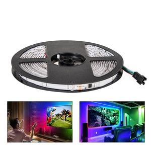 Image 3 - LED ストリップ 2811 IC RGB 5050 Led 柔軟なライト 300 モード 12V スマートストリップリボンテープ HDTV テレビデスクトップ画面のバックライトバイアスライト