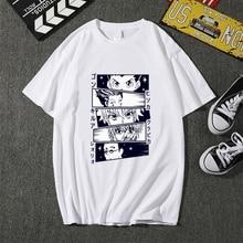 Graphic Tees T-Shirt male Hisoka Morow Harajuku Anime Hunter-X-Hunter Summer Tops Cartoon