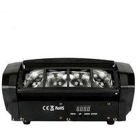 Mini LED pająk światło wiązki LED 8x10W RGBW Bar wiązka ruchoma głowica pająk świetlny LED RGBW dla DJ Disco w Oświetlenie sceniczne od Lampy i oświetlenie na