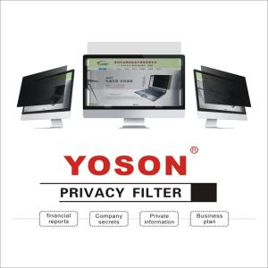 Image 3 - YOSON 24 inch Widescreen 16:9 PC monitor screen Privacy Filter/anti peep film / anti reflection film