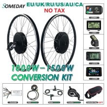 Ebike Hub-Motor Conversion-Kit Wheel-20-29inch 700c-Wheel BLDC 1000W/1500W Rear SOMEDAY