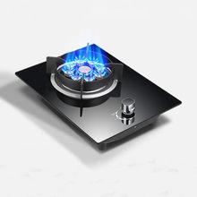 Fogão a gás único fogão doméstico gás liquefeito fogão a gás natural único embutido mesa fogo feroz fogão a gás