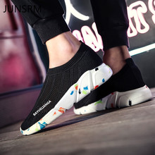 Sports shoes mens women hollow knit breathable socks Sneakers Lightweight  running couple lazy