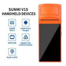 Pos-Terminal Software Smart-Machine SUNMI Android Register Handheld V1S Cash Billing-Point-Of-Sale