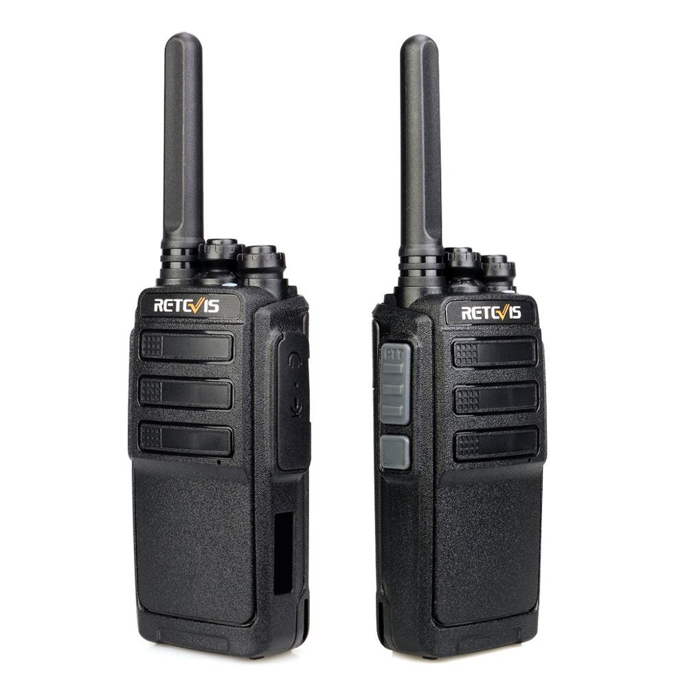 2pcs RT28P RETEVIS Walkie Talkie Patrol FRS Hands-free UHF Micro USB Charging Alarm Portable Two Way Radio Transceive For Patrol