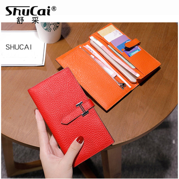 Long Wallet Women Purses Fashion Coin Purse Card Holder Wallets Female High Quality Clutch Money Bag Genuine Leather Wallet 3d embossing genuine leather women wallet zipper fashion rose long wallet high quality purse ladies clutch cowhide female wallet