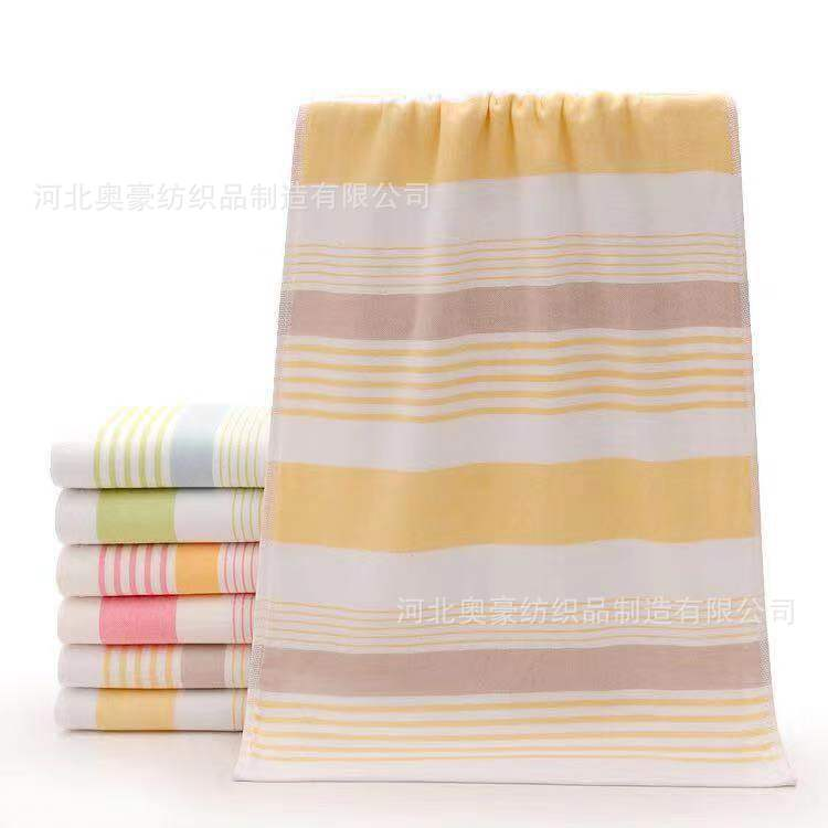 Pure Cotton Double Layer Gauze Towel Wedding Gift Gauze Towel Supermarket Daily Use The Department Store Pure Cotton Towel Creat