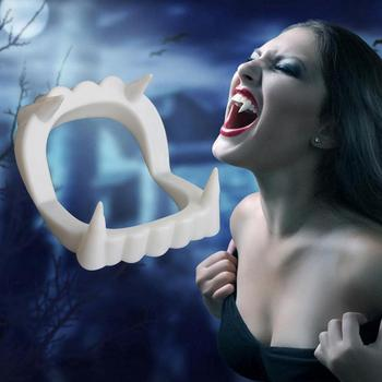 new fashion Sexy Halloween decoration Dracula Sharp Teeth Monsters Werewolfs Zombie Fangs Halloween Party Favor image