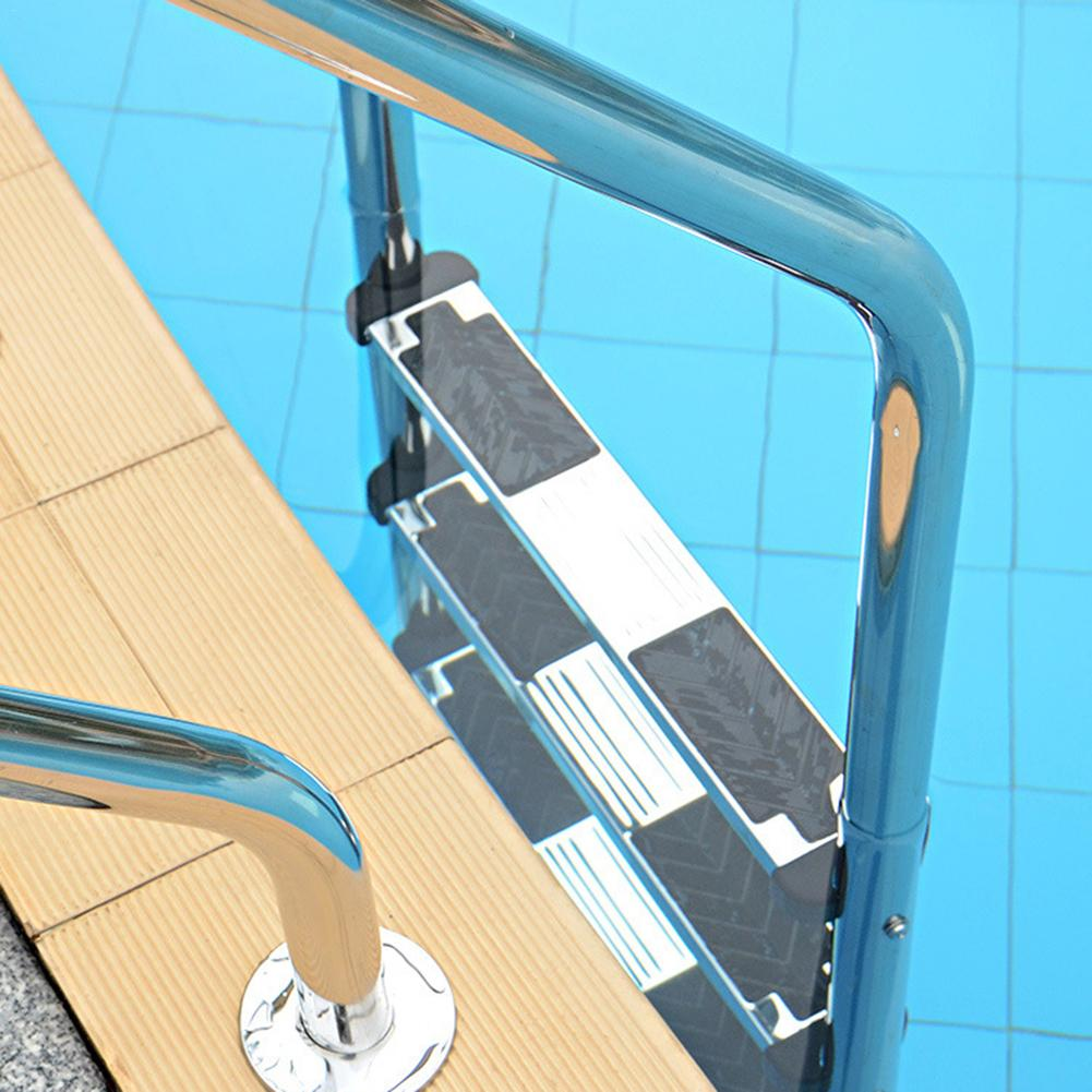 Swimming Pool Stainless Steel Replacement Ladder Rung Steps Anti Slip Durable Swim Steps Swimming Pool Ladder Pedal Rung Steps
