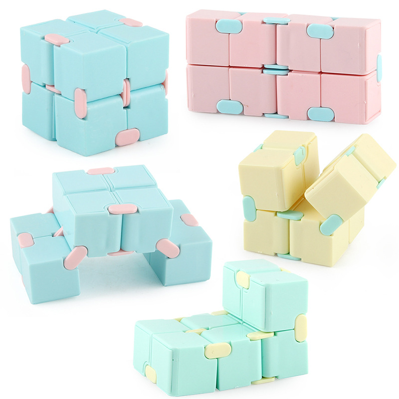 Fidget Toy Maze Magic Cube Decompression Square Infinity Puzzle Hand-Game Relieve-Stress img2