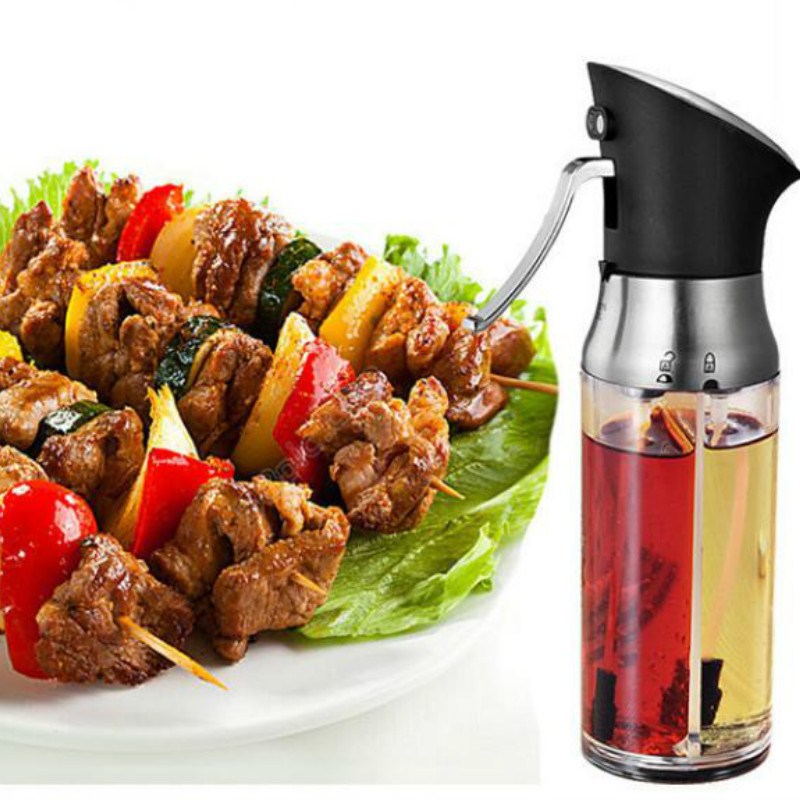 <font><b>Kitchen</b></font> metering oil pot combo sprayer adjustable barbecue seasoning fine mist spray bottle dispenser <font><b>kitchen</b></font> <font><b>tool</b></font> ZP7151652 image