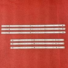 6 PIÈCES LED bande de rétro éclairage pour LG 49LJ614V 49UJ650 49UJ670V 49UJ634V 49UJ701V 49UJ670 49UJ651V 17Y 49LJ61 49LH61 49UJ65 UN B 27LED