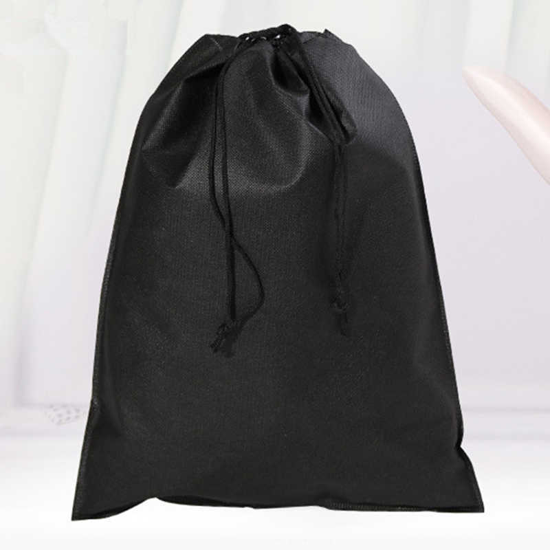 Non-tessuti Sacchetto di Drawstring Riutilizzabile Shopping Bag Scarpe Da Viaggio Eco Pieghevole Shopping Tote Del Sacchetto Del Sacchetto Dell'organizzatore del Sacchetto di Generi Alimentari