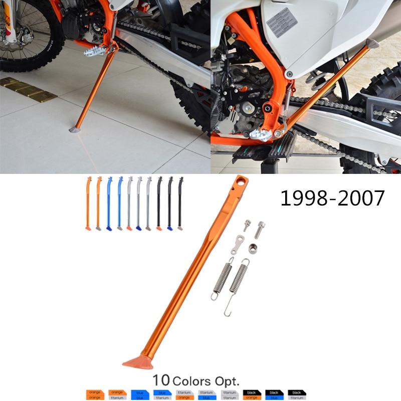 NICECNC Seite Stehen Kick Ständer & Frühling Für KTM 125 200 250 300 380 400 450 520 525 SX SXS EGS MXC EXC XC XCW XCFW EXCF EXC-G