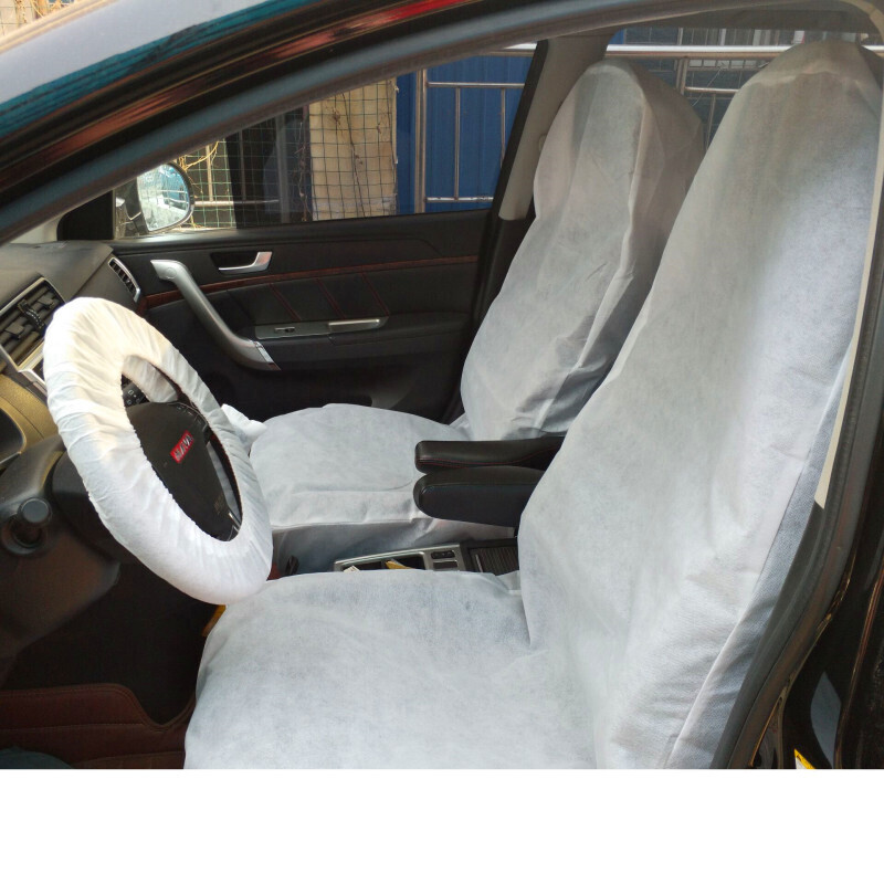E-FOUR Waterproof Seat Covers Auto Seat Protector Car Chair Cover Fabric Seat Covers Removable Auto Car Seat Cover Disposable