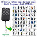 copy gate garage door remote control rf 315 330 433 868 mhz universal duplicator fixed code rolling code remote control