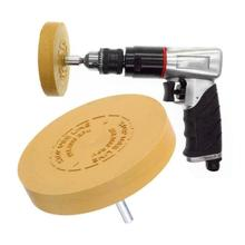 3.5 inch pneumatic degumming disc In addition to rubber head Paint removal rubber wheel Degumming rubber grinding wheel