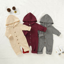 New Arrival Newborn Baby Rompers Fashion Boys Girls Soft Aut