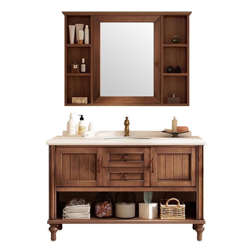 2020 New Bathroom Furnitures Solid Wood Bathroom Vanity Solid Timber Bathroom Cabinets Sv218 Aliexpress