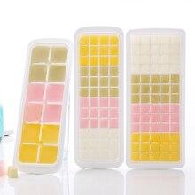 12 V/48/65 сетки Форма для льда с крышкой холодильник для дома контейнеры для хранения льда аппарат-изготовитель кубиков льда лоток