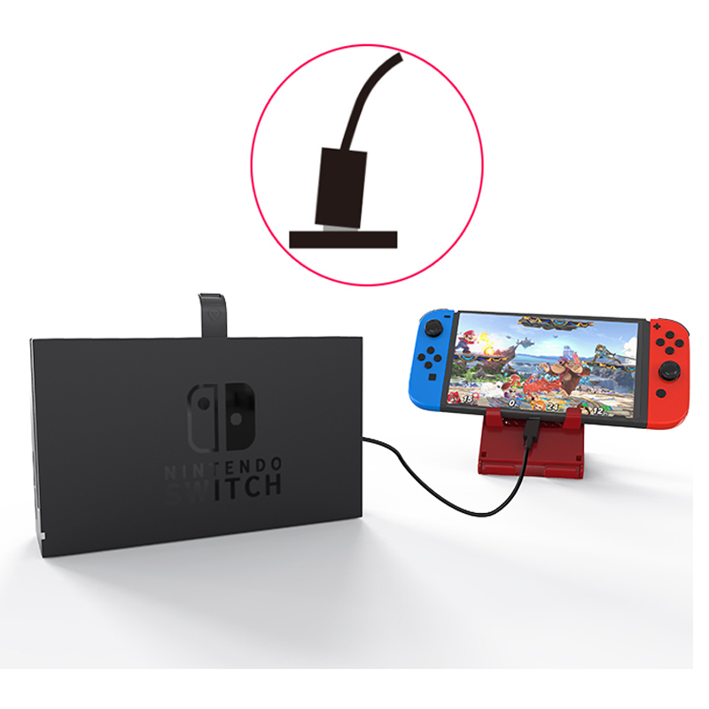 Купить с кэшбэком Nintend Switch NS Extender Cable 10 Gbps Data Transfer Rate TV Dock Video Extension Line Cord for NintendoSwitch Dock Accessorie