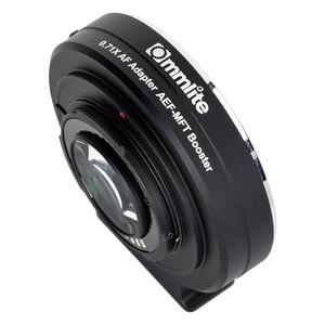 Image 2 - Commlite CM AEF MFT Booster 0.71X Focal Reducer Booster Af Lens Mount Adapter Voor Canon Ef Lens Panasonic/Olympus M4 /3 Camera