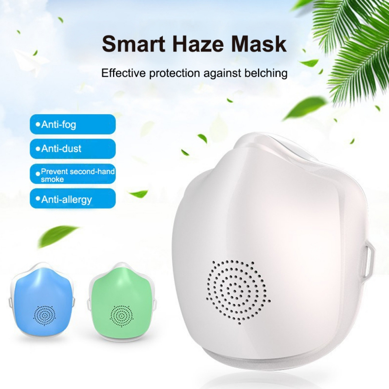 Electric Mask Air Purifying Mask Anti Pollution Mask With Filter For Running/Travel/Dust/Air Pollution/Motorcycle/Sport