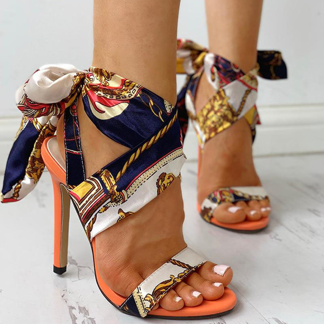 Stylish High Heels Sandals /  Sexy Stiletto Shoes 2