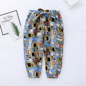 Pants Boys Air-Conditioning Girls Bloomers Kids Section Spring Thin Home