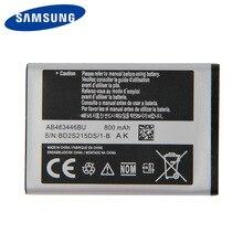 цена на Original Samsung High Quality AB463446BU Battery For Samsung C3300K X208 B309 F299 SCH-E339 E2330 E1190 GT-C3520 800mAh