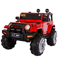 Children electric car four-wheeled off-road vehicle drive toy remote double can sit adult boy baby kids outdoor riding gifts