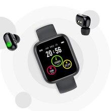 Водонепроницаемый износостойкий смарт-браслет X5 с Bluetooth-наушниками и сенсорным управлением, Bluetooth 5,0, цветной ЖК-дисплей 1,54 дюйма
