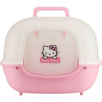 1Wide doors, fat cat sand pots, fully enclosed  toilets, large kittens,  bedpans.