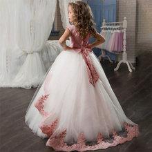 Вечерние свадебные платья для девочек платье принцессы выпускного