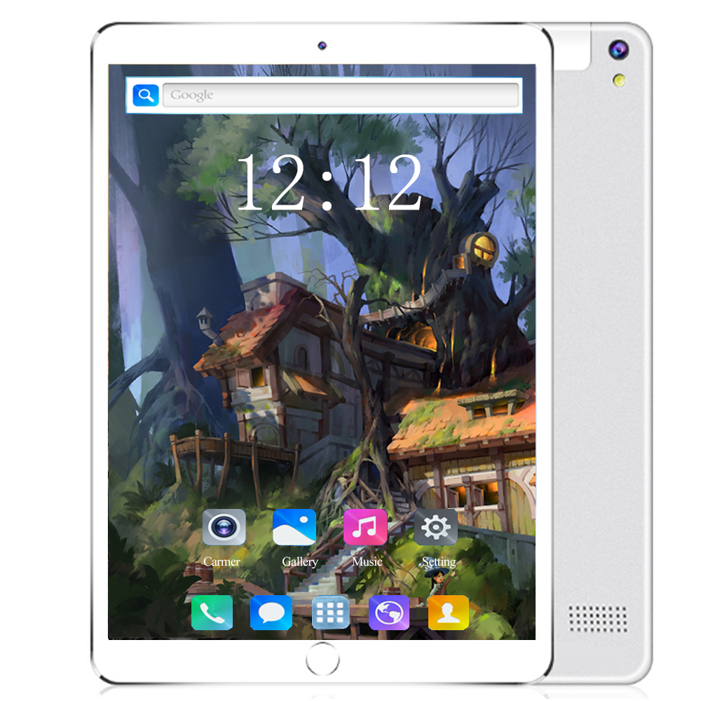 2020 4G LET Smartphone Android 8.0 Tablet PC 10.1 Inch Octa Core Ram 6GB Rom 128GB GPS WiFi Kids Tablet Use Card Google Play