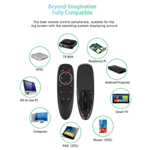 Image 5 - L8star G10S G10 Air Mouse 2.4G Draadloze Gyro Microfoon Google Voice Search Smart Afstandsbediening Ir Leren Voor Android tv Box