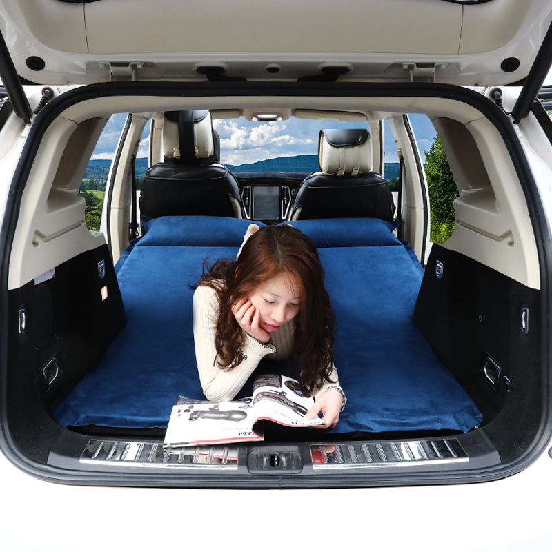 Auto inflator car inflator bed rear mattress off road SUV trunk travel air cushion bed car Travel Bed image