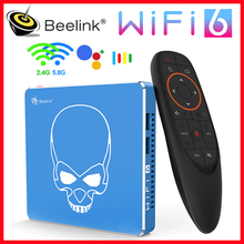 Beelink GT Pro rey WiFi6 TV BOX Android 9,0 4GB64GB Amlogic S922X-H Quad Core Soporte Dolby Audio DTS escucha 4K HD set top box