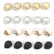 5pcs/box Resin Skull Thumbtack Drawing Pins Pushpin Board Photo Wall Map Markers 77HA
