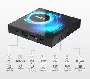 Image 4 - Новый Android 10,0 T95 Smart TV Box 4 ГБ 32 ГБ 64 Гб Allwinner H616 четырехъядерный 1080P H.265 4K медиаплеер 2 Гб 16 Гб телеприставка