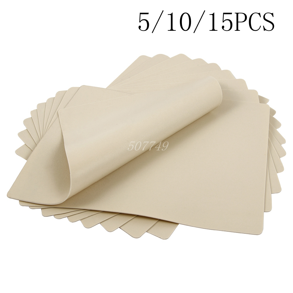 5/10/15pcs 20x15cm Tattoo Practice Skin Synthetic Blank Tattoo Practice Skin Sheet For Needle Machine Supply Free Shipping
