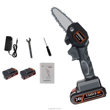 Portable Rechargeable Electric Garden Pruning Saw Lithium Battery 24V O13