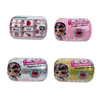 دمية للمفاجأت الرائعة دمية الشعر الجميلة الجيل 5th لتقوم بها بنفسك اليدوية صندوق أعمى حقيبة يد الموضة لطيف هدية فتاة لعبة